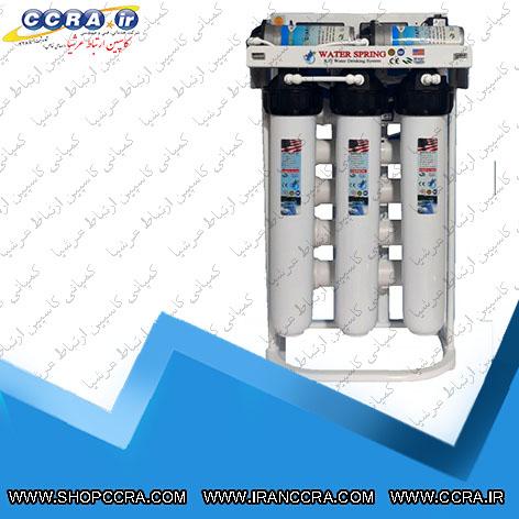 دستگاه تصفیه آب نیمه صنعتی 400 گالن واتر اسپرینگ