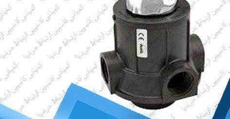شیر سه حالته دستی سختی گیر RUNXIN 2 اینچ مدل N54D2