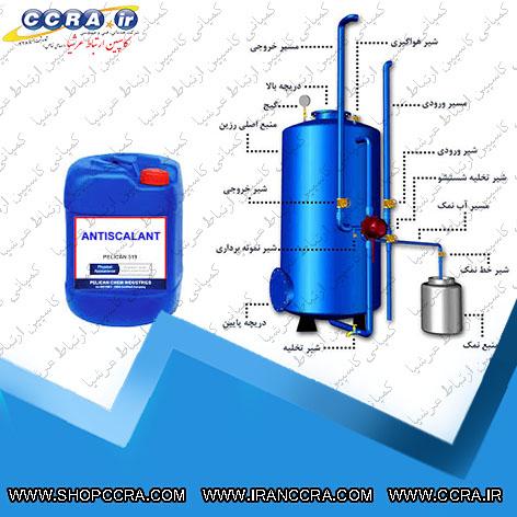 کنترل رسوبات با استفاده از آنتی اسکالانت، سختی گیر و استفاده از اسید