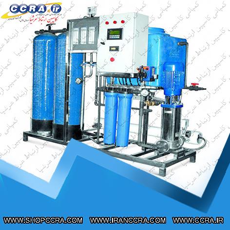 دستگاه تصفیه آب صنعتی با ظرفیت 5 متر مکعب