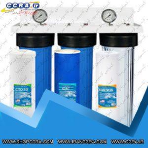 دستگاه تصفیه آب نیمه صنعتی 200 گالنی آکوالایف