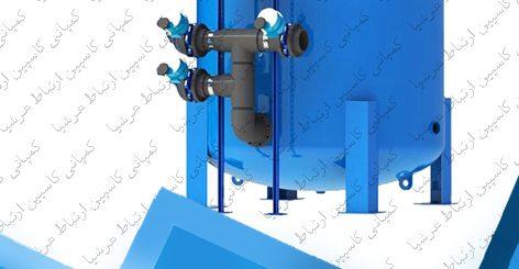 ساختار فیلتر شنی در صنعت تصفیه آب و فاضلاب