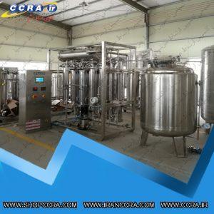 عملکرد دستگاه تقطیر آب در آزمایشگاه ها