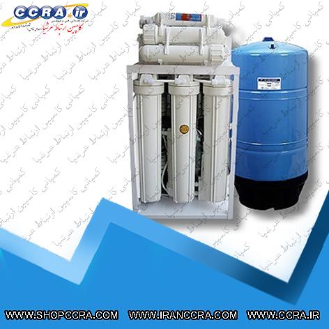 دستگاه تصفیه آب نیمه صنعتی 800 گالن مونتاژ شده
