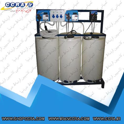 فرآیند کلر زنی در دستگاه تصفیه آب صنعتی