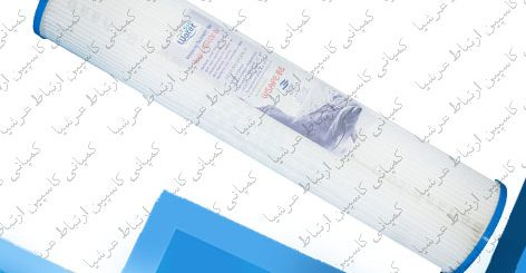 فیلتر الیافی 20 اینچ اسلیم در دستگاه های تصفیه آب نیمه صنعتی آکوا لایف