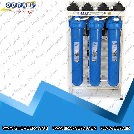 دستگاه تصفیه آب نیمه صنعتی 400 گالنی c.c.k پلاس