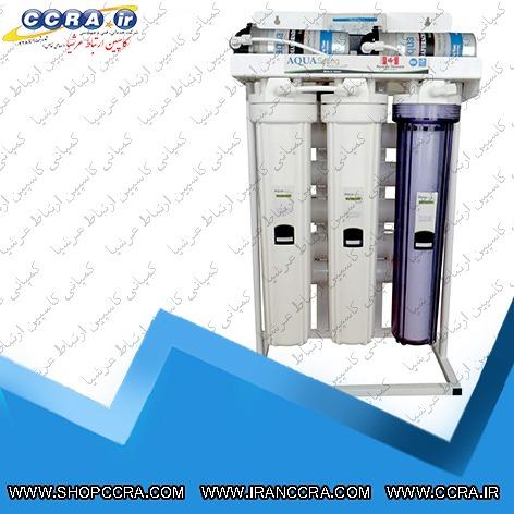 دستگاه تصفیه آب نیمه صنعتی 400 گالنی آکوا اسپرینگ